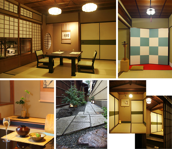 Annex (Tatami Room for exclusive use only): 2-4 guests